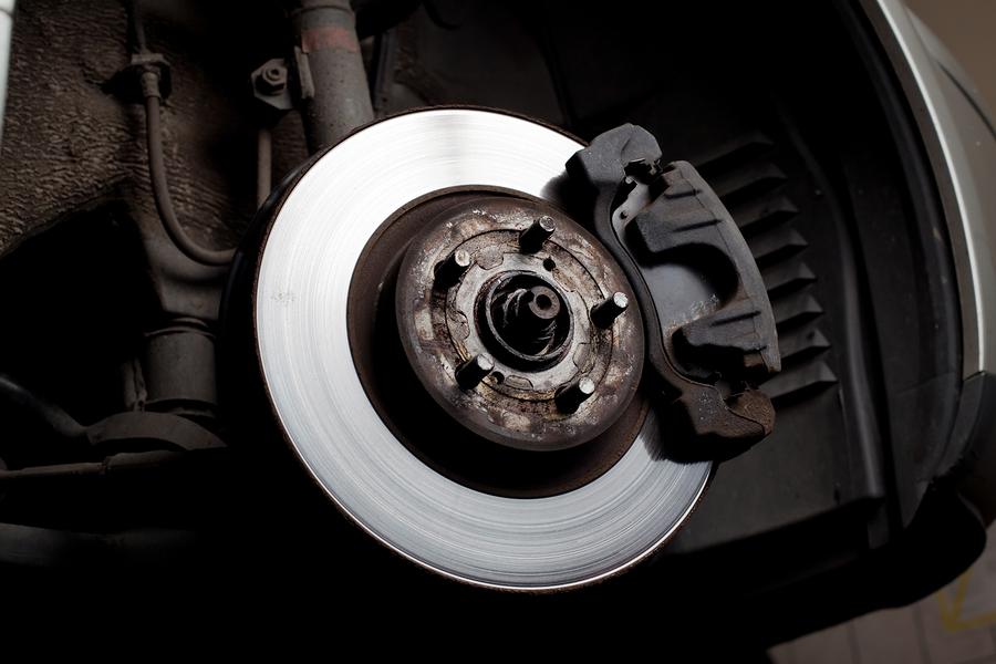 close up of brake